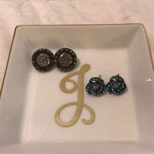 Jewelry - Bejeweled earrings